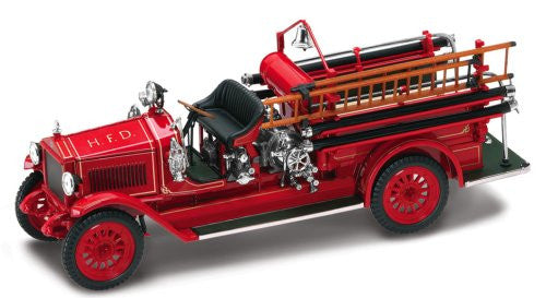 Yatming - Maxim C1 Fire Engine H.F.D. (1923, 1/43 scale diecast model car, Red)