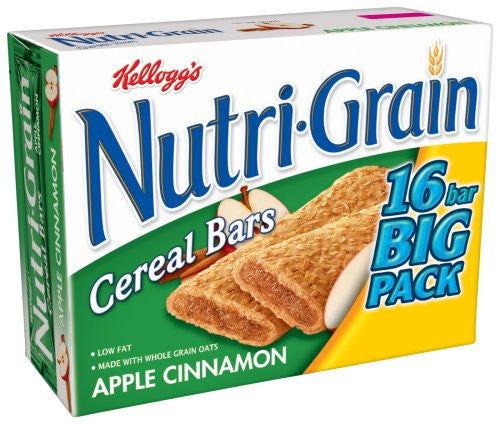 Nutri-Grain 16 Cereal Bars Apple Cinnamon