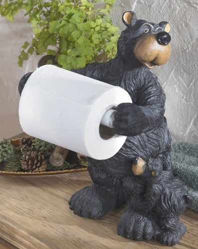 Willie Bear Toilet Paper Holder