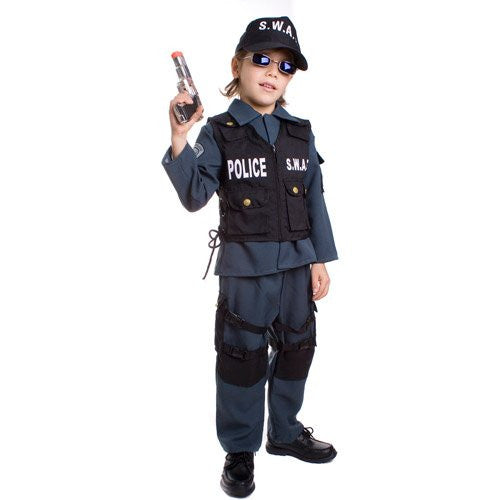 Deluxe Children's S.W.A.T. Police Officer