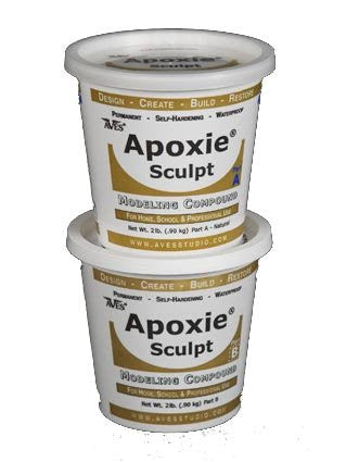 Apoxie Sculpt 4 Lb. Epoxy Clay - Black