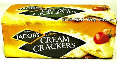 Jacobs Crackers, Cream 7.05 OZ