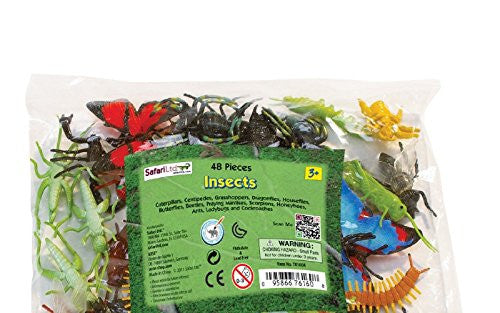 Insects Bulk Bag 48 Pieces per Package