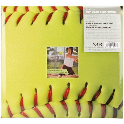 Sports & Performance Scrapbooks (Continued): Softball, 12x12, 20 pgs