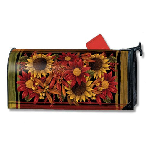 "Rusts of Autumn Mail Wrap, 6.5"" x 19"" Mailbox"
