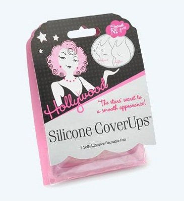 Hollywood Fashion Tape Cover Ups, Reusable Nipple Concealers 1 Pair