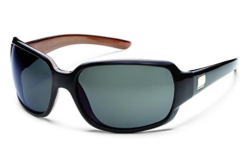 Cookie Black Backpaint with Gray Polarized Polycarbonate Lens