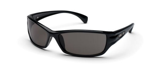 Hook Black with Gray Polarized Polycarbonate Lens