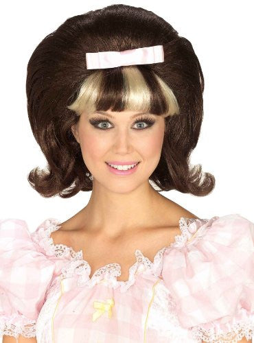 60'S PRINCESS WIG BROWN/BLONDE