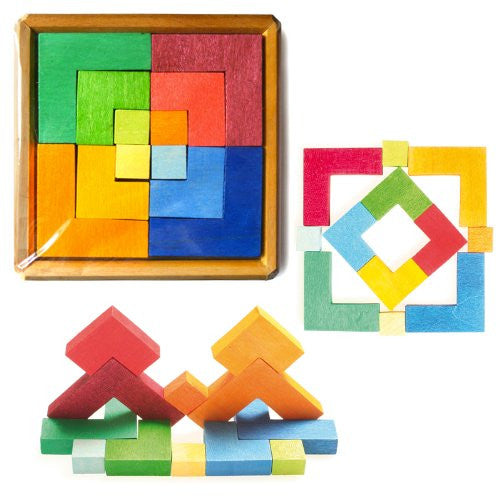 Creative Puzzle for Building Square