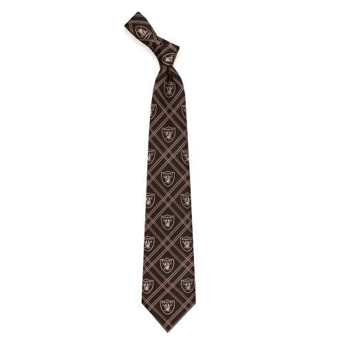Oakland Raiders Tie Woven Poly 2