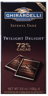 INTENSE TWLIT DLT 3.5oz BAR 12ct GHIRARDELLI - Package