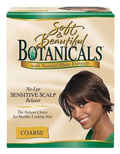Soft+Beaut Botanicals Relaxer Kit Coarse