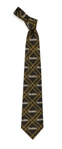Pittsburgh Steelers Tie Woven Poly 2