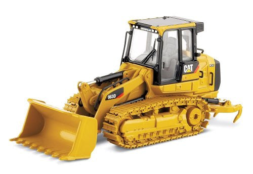Norscot - Cat 963D Track Loader w/ Metal Tracks (1/50 scale diecast model car, Yellow)
