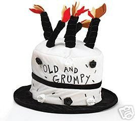 HAT 'OLD AND GRUMPY'