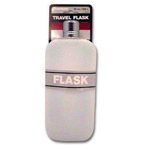 Plastic Travel Flask, 26 oz.