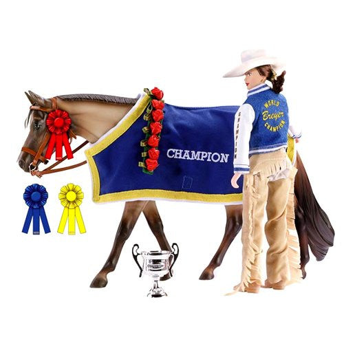 Breyer Traditional Winners Circle Set