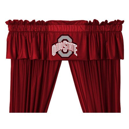 VALANCE Ohio St Buckeyes - Color Bright Red - Size 88x14