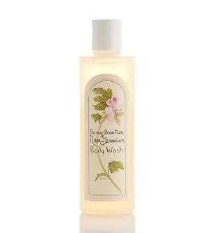 Body Wash, Rose Geranium, 8 oz.