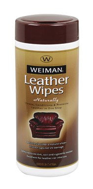 Weiman - LEATHER WIPES 30ct. Canister
