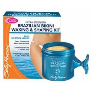 Extra Strength Brazilian Bikini Waxing & Shaping Kit