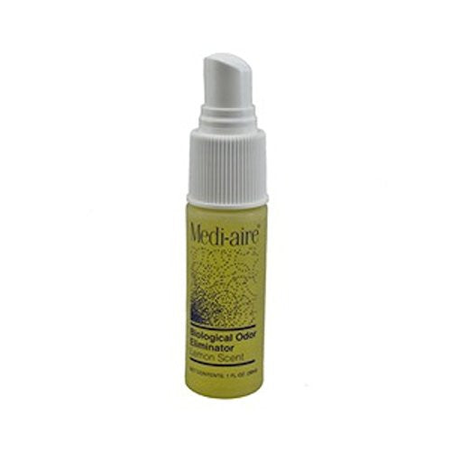 Bard Medi-Aire - Biological Odor Eliminator and Air Freshener, Lemon 1 oz Spray