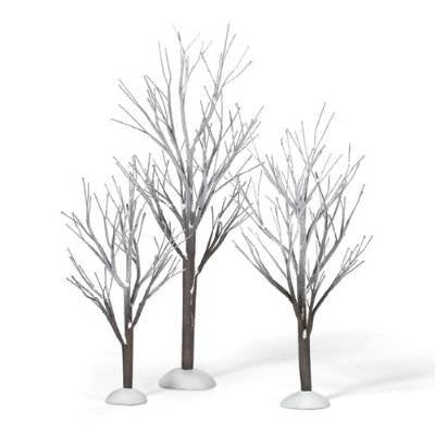 Department 56 First Frost Trees, Set of 3