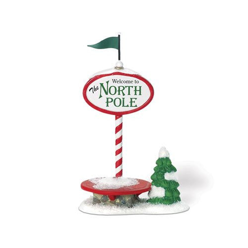 Department 56 Welcome To The North Pole