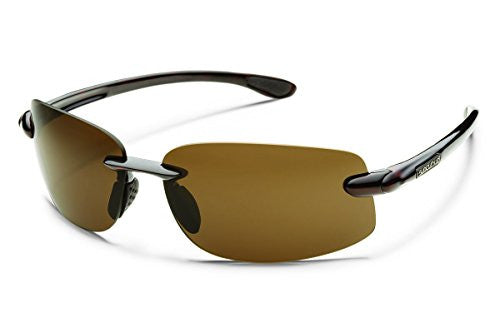 Excursion Tortoise with Brown Polarized Polycarbonate Lens