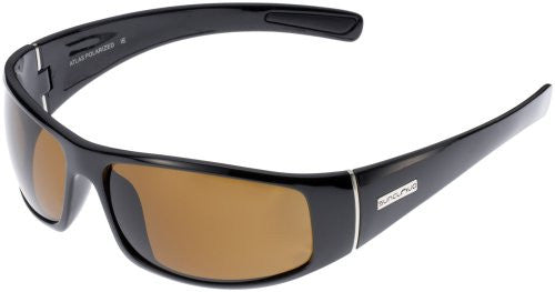 Atlas Black with Brown Polarized Polycarbonate Lens