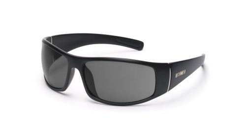 Atlas Matte Black with Gray Polarized Polycarbonate Lens