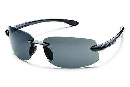 Excursion Black with Gray Polarized Polycarbonate Lens