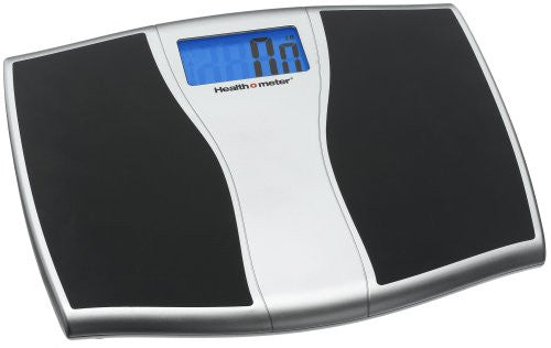 Health o Meter Weight Tacking Scale, Black / Silver Metallic with Backlit Display