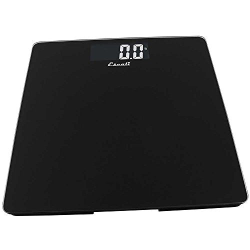 Glass Platform Bathroom Scale, Sage Green, 440 Lb / 200 Kg