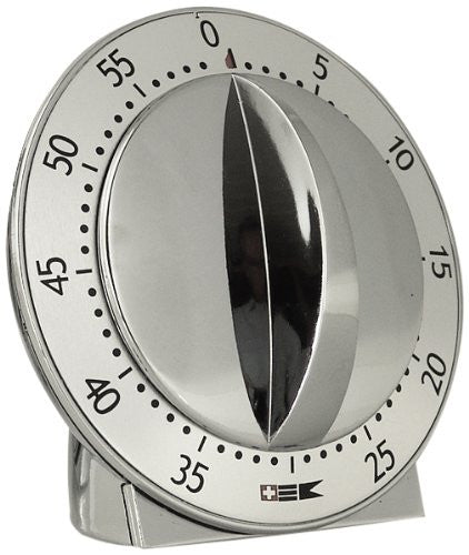 Mechanical chromed timer 60 minutes