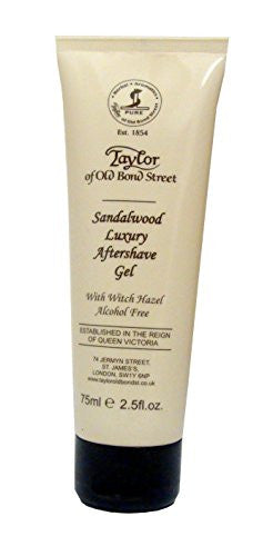 Taylor of Old Bond Street Sandalwood Aftershave Gel, 2.5-Ounce