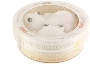 Giant Microbes White Blood Cell (Leukocyte) Petri Dish