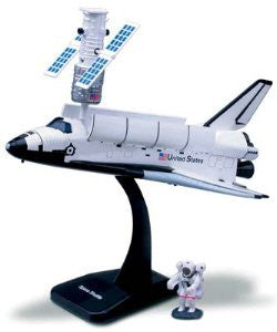 Space Station Model Kit, 4 Asstd, Space Shuttle