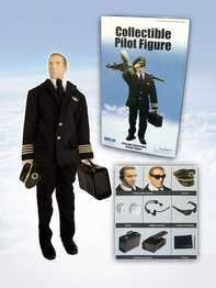 Collectible Pilot Figure 1/6