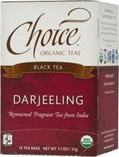 Choice Organic Darjeeling Tea 16.0 BG