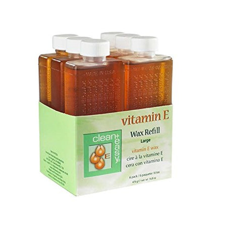 Vitamin E Wax Refills, Large (Leg) Vitamin E Wax