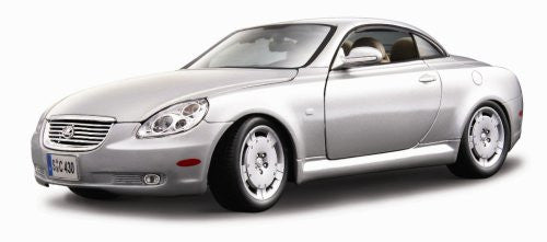 BBurago - Lexus SC 430 Hard Top (1/18 scale diecast model car, Silver)