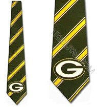 Green Bay Packers Tie Woven Poly 1
