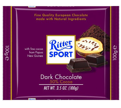 Dark 50% Chocolate bar 3.5 OZ
