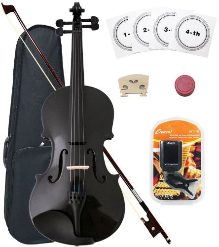 4/4 Violin Starter Kit (Colour-Black)