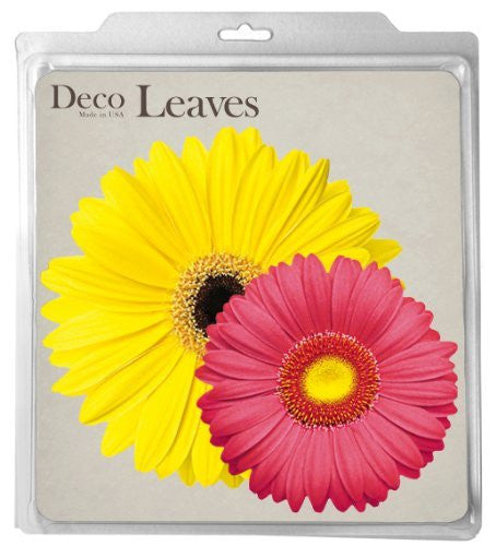 Daisies Deco Parchment Leaves, 20pk