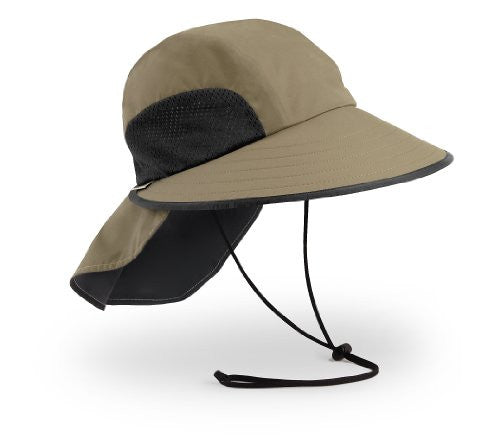 Sport Hat, Sand/Black, Large