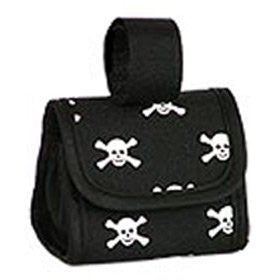 Skull & Cross Bones Purse Dispensers - White Skulls