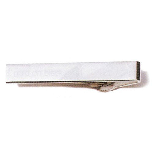 Wide Tie Bar - Nickel
